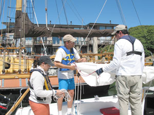 Sailing Lessons San Francisco Bay school instruction bay area classes club Rentals Learn to sail Women sailing